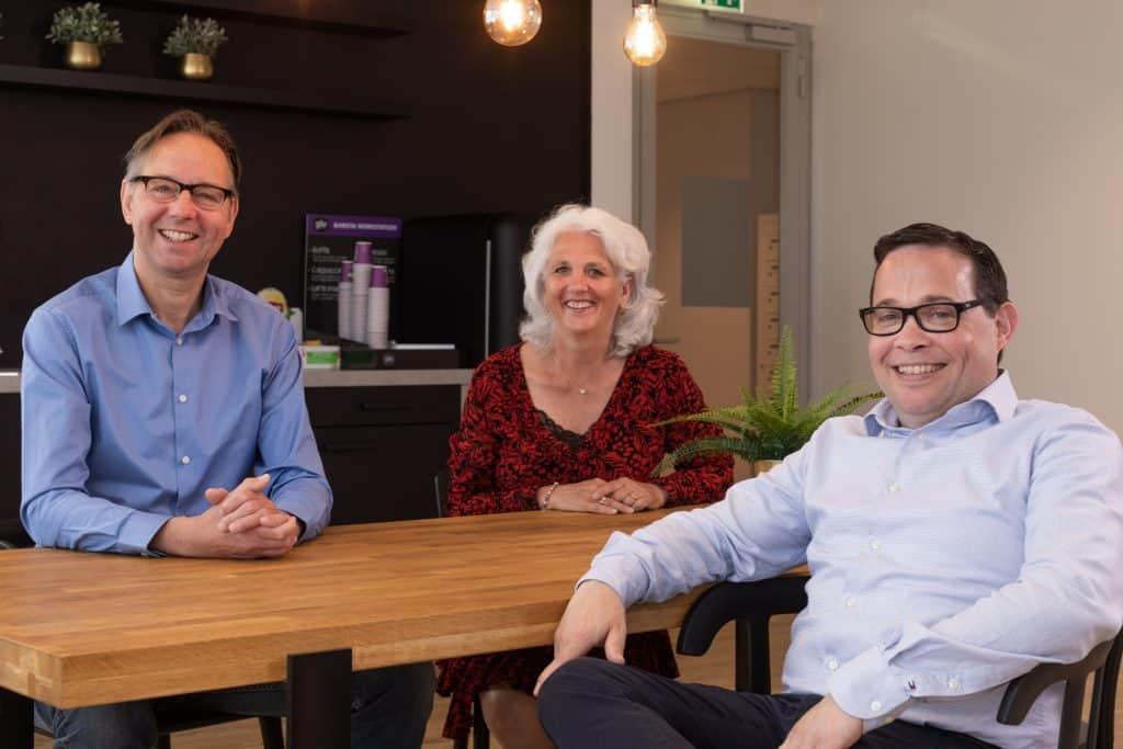 Loopbaancoach voor hoogopgeleiden: Ruud Op den Kamp, Mariska van Adrichem en Emile de Bruin (vlnr)
